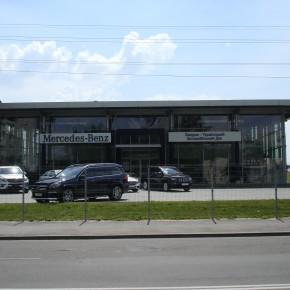 Автосалон «Мерседес». м. Львів